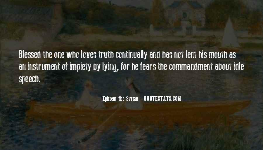 Ephrem The Syrian Quotes #82568