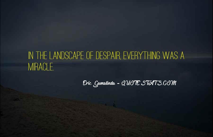 Eric Gamalinda Quotes #1039909