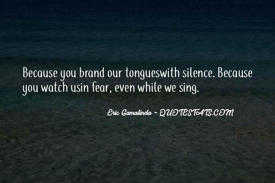 Eric Gamalinda Quotes #1333278