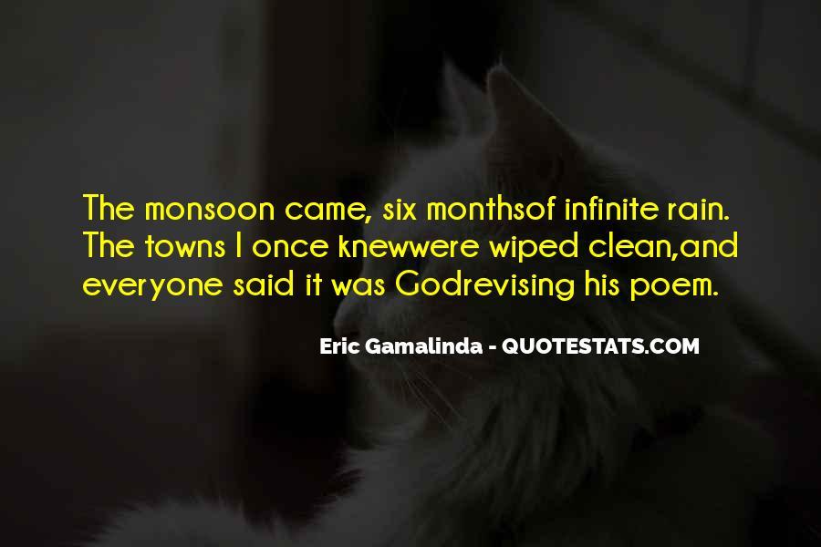 Eric Gamalinda Quotes #1550683