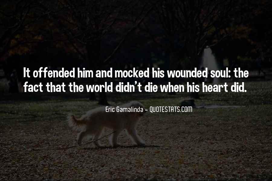 Eric Gamalinda Quotes #1725354