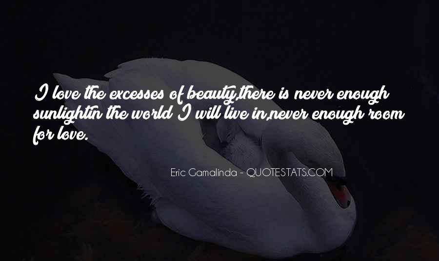 Eric Gamalinda Quotes #1729022