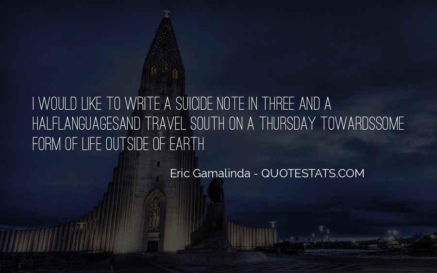 Eric Gamalinda Quotes #353062