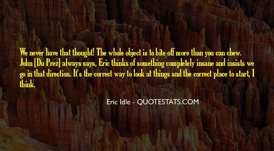 Eric Idle Quotes #1206373
