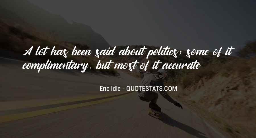 Eric Idle Quotes #1379250