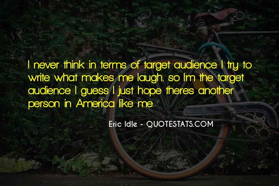 Eric Idle Quotes #1389267