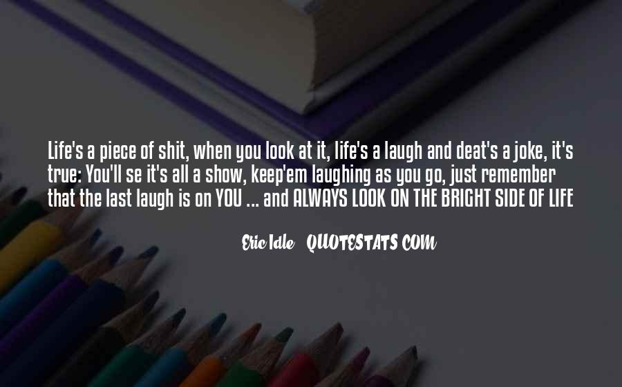 Eric Idle Quotes #1475090