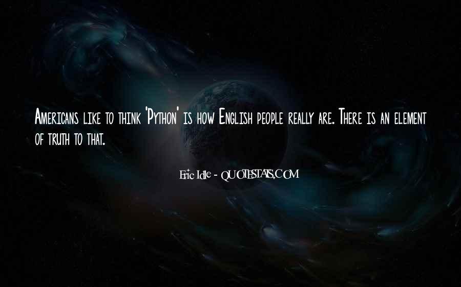 Eric Idle Quotes #47952