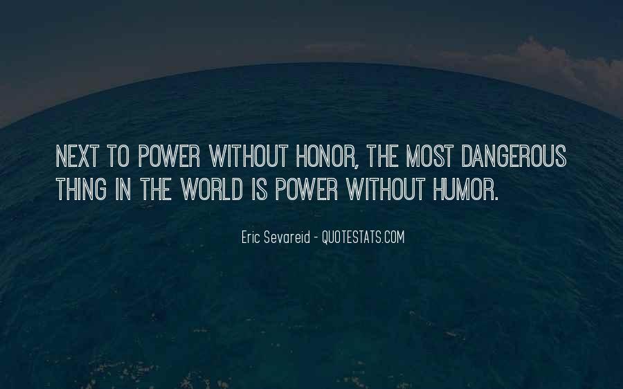 Eric Sevareid Quotes #407473