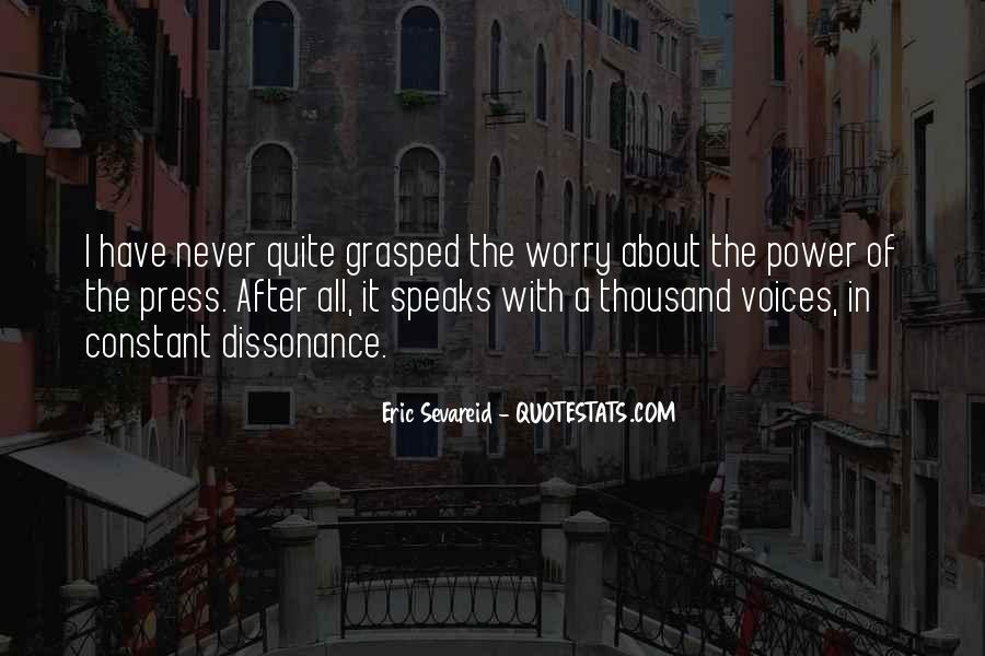 Eric Sevareid Quotes #862263