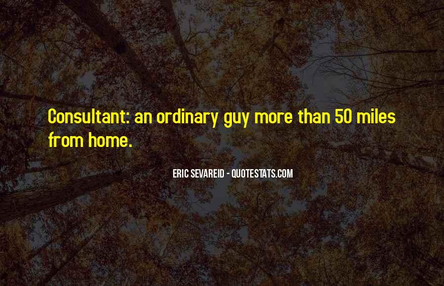 Eric Sevareid Quotes #960170