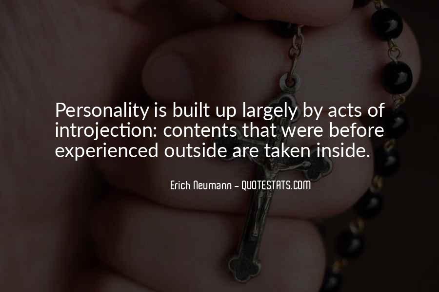 Erich Neumann Quotes #1613492