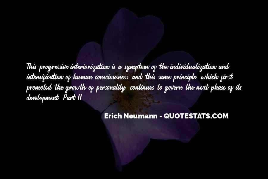 Erich Neumann Quotes #361276