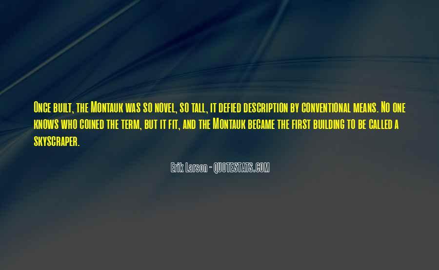 Erik Larson Quotes #449776