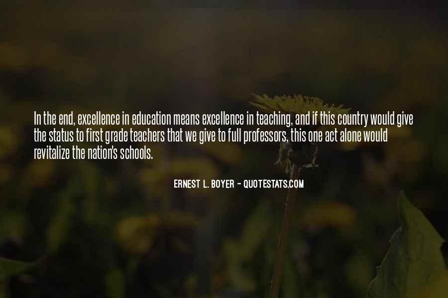 Ernest L Boyer Quotes #1342002
