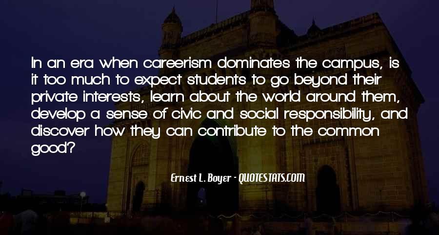 Ernest L Boyer Quotes #1754136