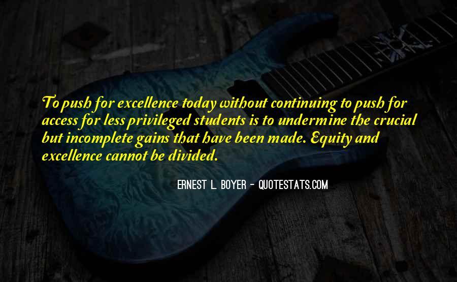 Ernest L Boyer Quotes #1858053