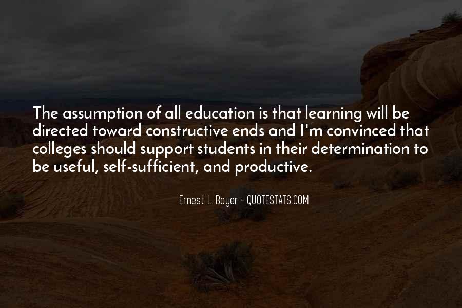 Ernest L Boyer Quotes #292796