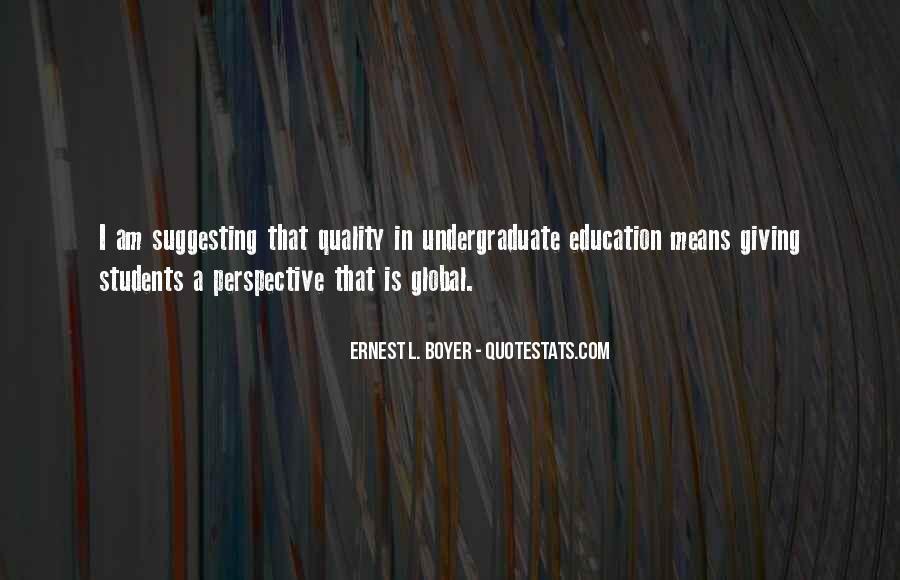 Ernest L Boyer Quotes #527860