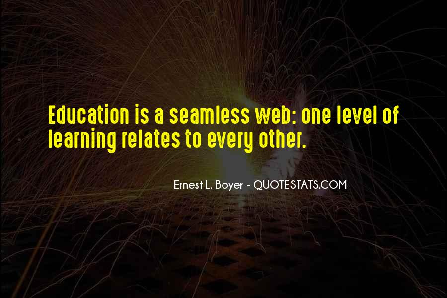 Ernest L Boyer Quotes #650605