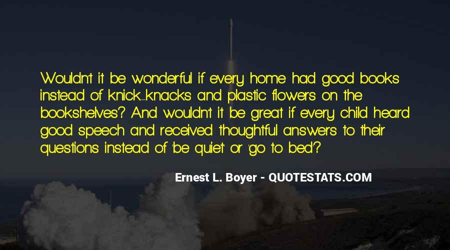 Ernest L Boyer Quotes #769385