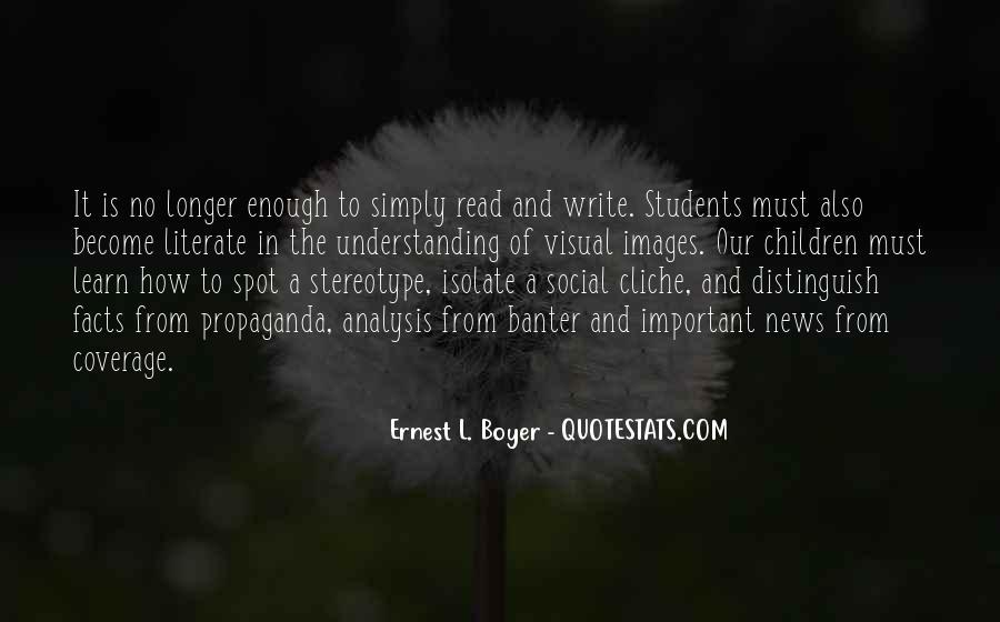 Ernest L Boyer Quotes #981156