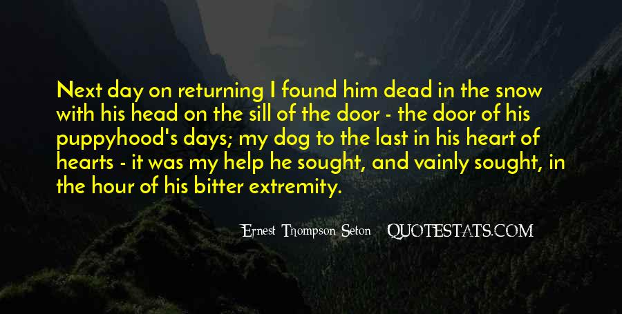 Ernest Thompson Seton Quotes #1356069