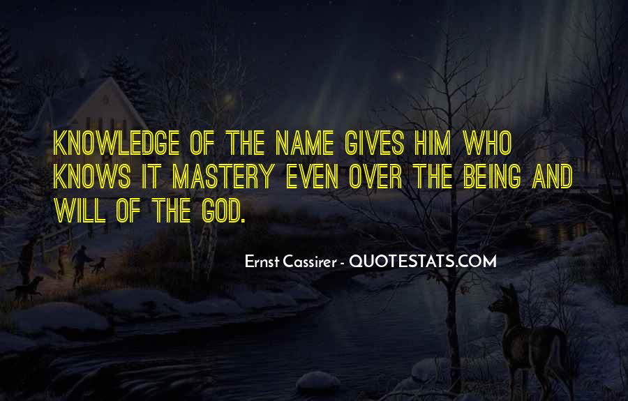 Ernst Cassirer Quotes #1417224