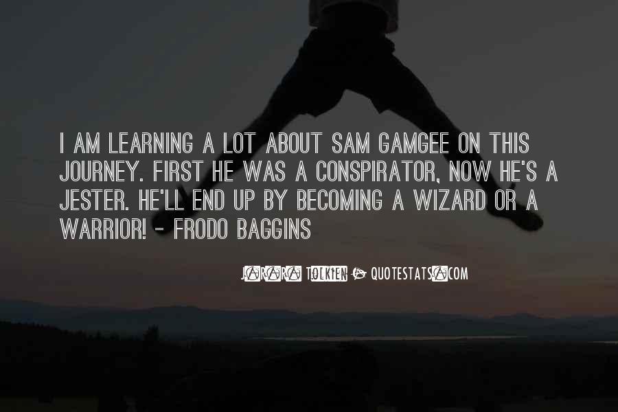 Quotes About Sam Gamgee #1649408