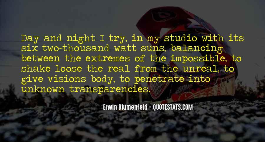 Erwin Blumenfeld Quotes #1736344