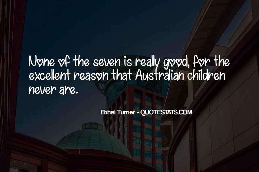 Ethel Turner Quotes #545595