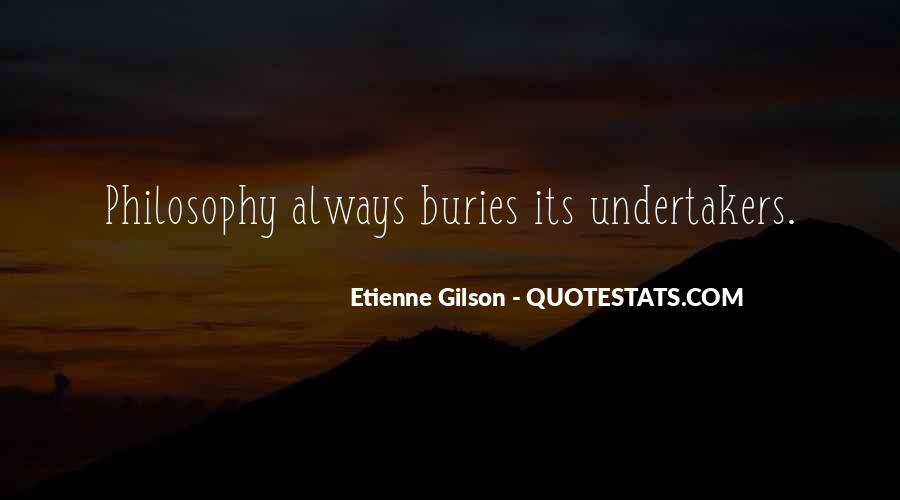 Etienne Gilson Quotes #804637