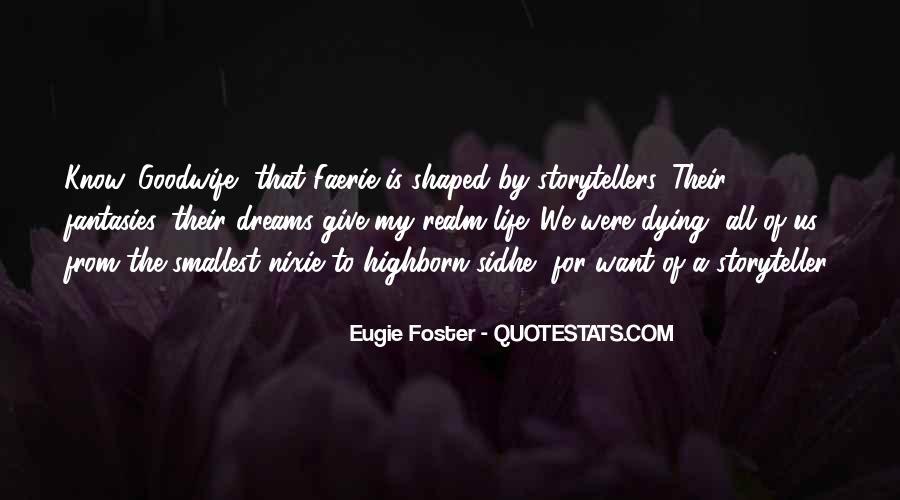 Eugie Foster Quotes #1147280