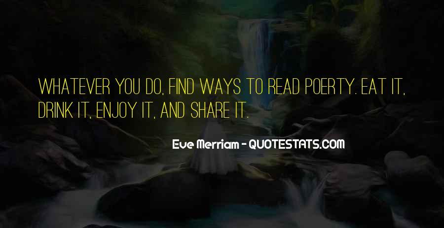 Eve Merriam Quotes #897233