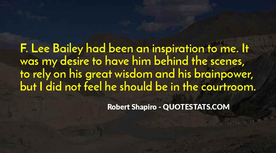 F Lee Bailey Quotes #1505634