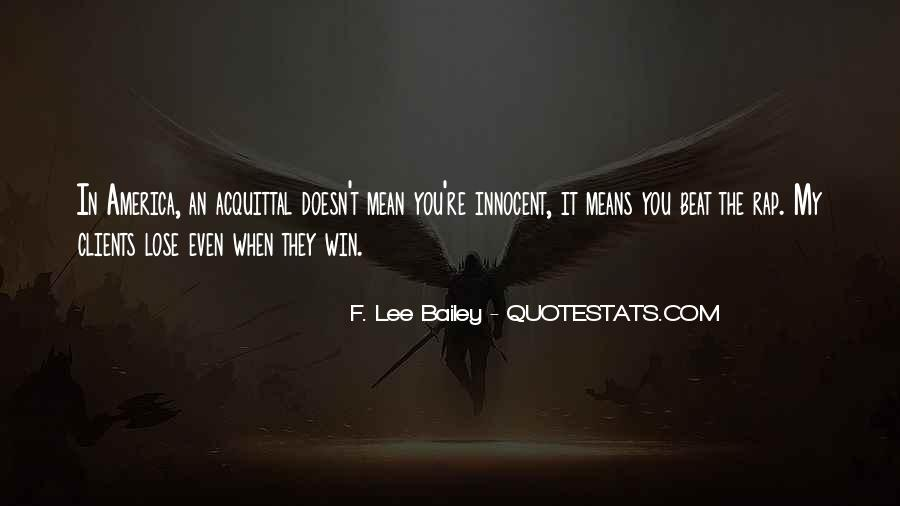 F Lee Bailey Quotes #76911