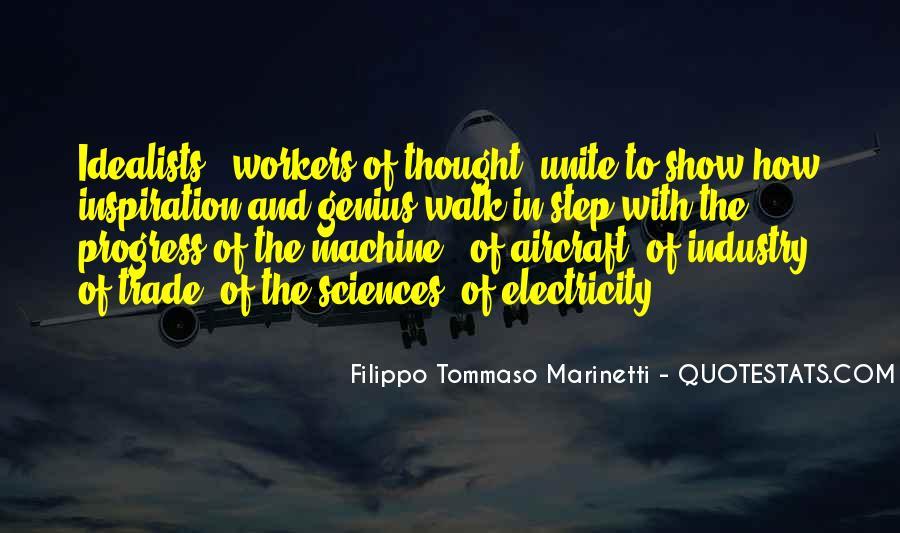 F T Marinetti Quotes #180801
