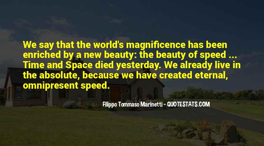 F T Marinetti Quotes #361877