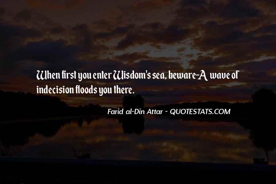 Farid Al-din Attar Quotes #1396143