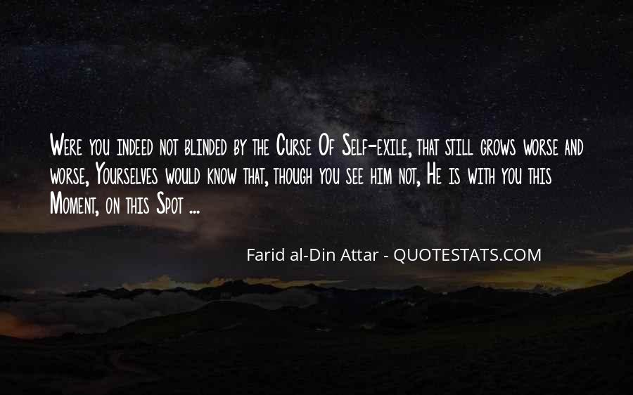 Farid Al-din Attar Quotes #1680875