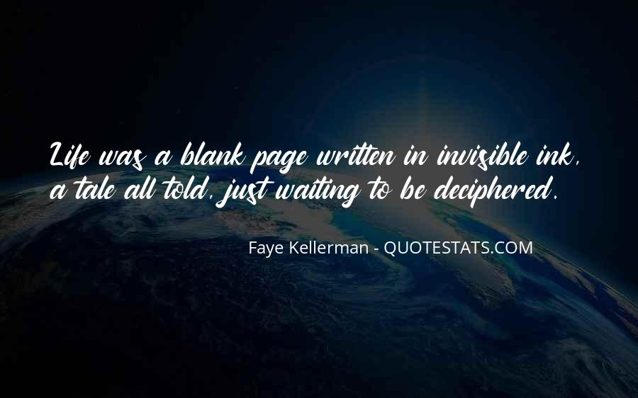Faye Kellerman Quotes #1372626