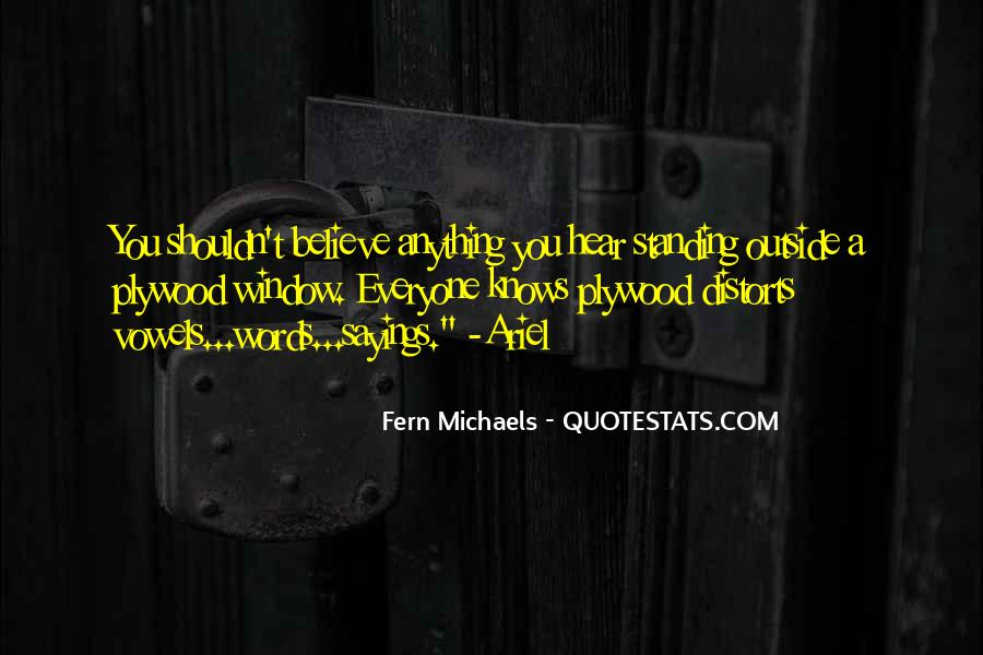 Fern Michaels Quotes #1466914