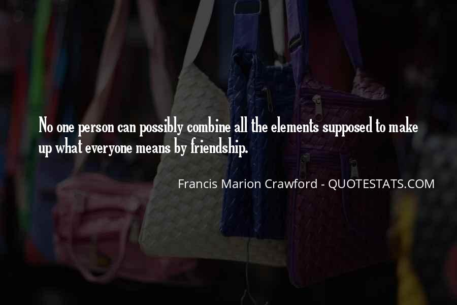Francis Marion Crawford Quotes #1209873