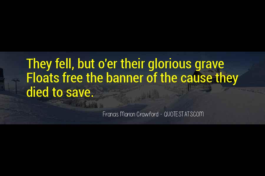 Francis Marion Crawford Quotes #1275388