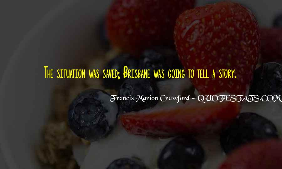 Francis Marion Crawford Quotes #1603470