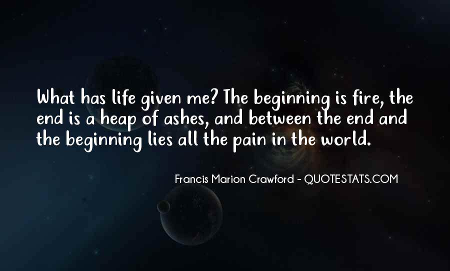 Francis Marion Crawford Quotes #942541