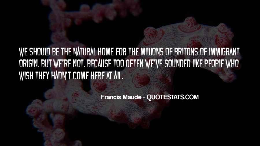 Francis Maude Quotes #48680