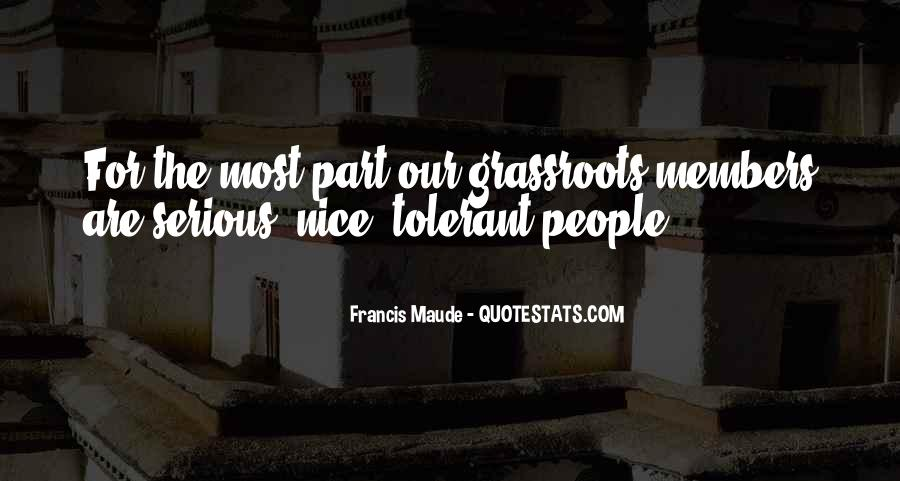 Francis Maude Quotes #555596