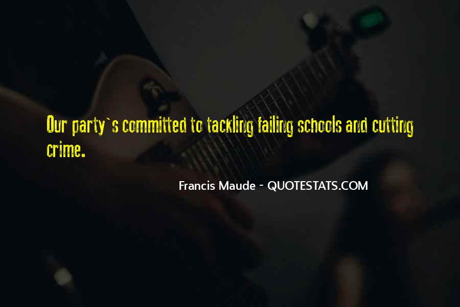 Francis Maude Quotes #863343