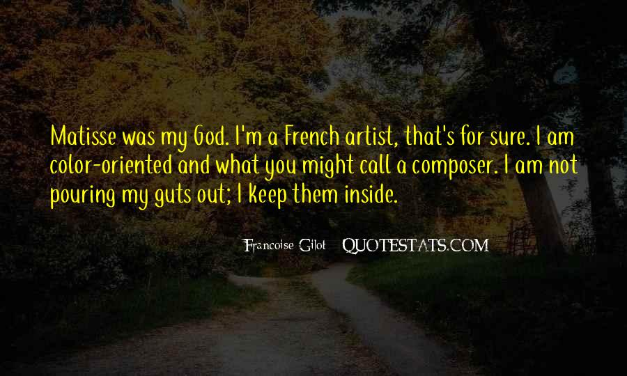 Francoise Gilot Quotes #499254